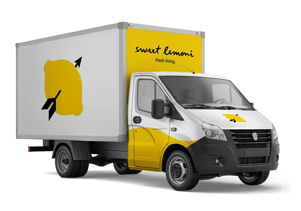 sweet lemoni truck